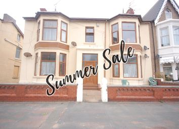 Thumbnail 5 bed flat for sale in Shaw Road, Blackpool, Lancashire
