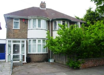 Thumbnail 4 bedroom semi-detached house to rent in Glendower Road, Perry Barr