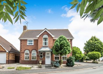 Thumbnail 4 bed detached house for sale in Millholme Close, Southam