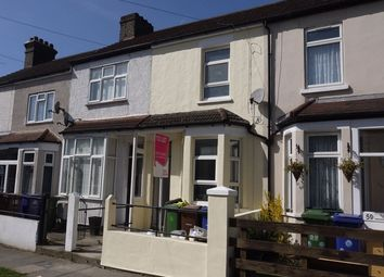 Thumbnail 3 bedroom terraced house to rent in Kent Road, Grays, Essex