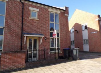 Thumbnail 3 bed end terrace house for sale in Scribers Drive, Upton, Northampton, Northamptonshire