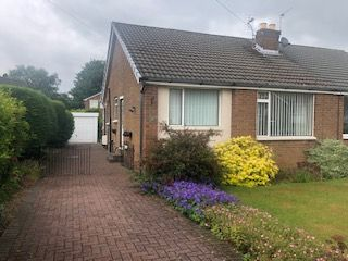 Thumbnail 2 bed semi-detached bungalow for sale in Livesey Hall Close, Blackburn