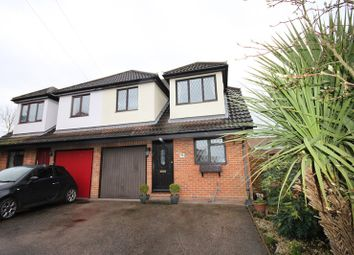 Thumbnail 4 bed semi-detached house for sale in The Warren, Billericay