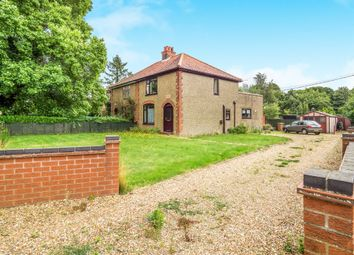 Thumbnail 2 bedroom semi-detached house for sale in Whitwell Road, Reepham, Norwich