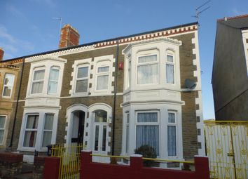 Thumbnail 4 bedroom end terrace house for sale in Earle Place, Canton, Cardiff