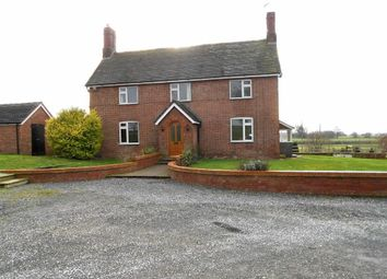 Thumbnail 5 bed detached house for sale in London Road, Walgherton, Nantwich, Cheshire