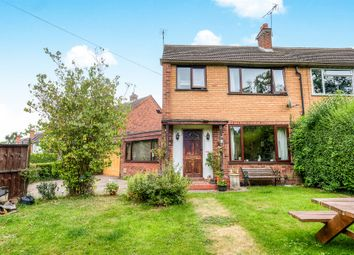 Thumbnail 3 bed semi-detached house for sale in Church Road, Webheath, Redditch