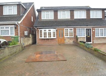Thumbnail 4 bedroom semi-detached house to rent in Tryfan Close, Redbridge, Essex
