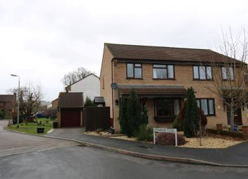 Thumbnail 3 bed semi-detached house to rent in Bluebell Avenue, Tiverton