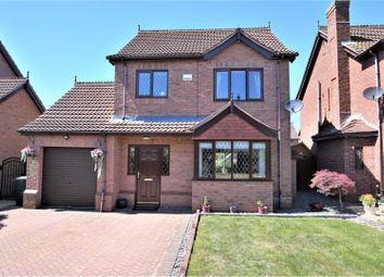 Thumbnail 3 bed detached house for sale in Willow Close, Barnetby