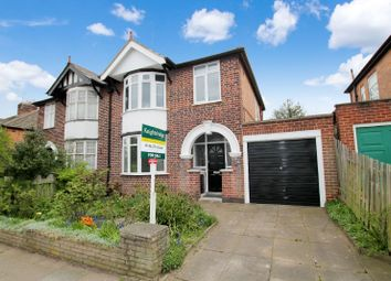 Thumbnail 3 bedroom semi-detached house for sale in Queens Road, Clarendon Park, Leicester
