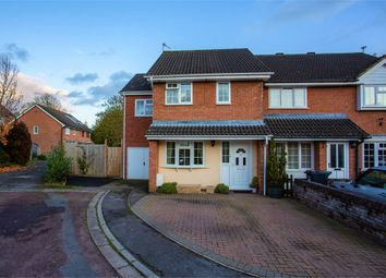 Thumbnail 4 bedroom end terrace house for sale in The Glebe, Wrington, Bristol, Somerset