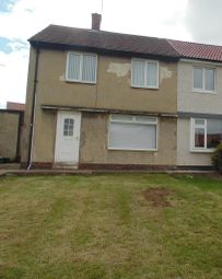 Thumbnail 2 bed semi-detached house to rent in The Bungalows, Sunderland Road, Horden, Peterlee