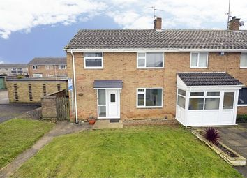 Thumbnail 3 bed end terrace house for sale in Test Green, Corby, Northamptonshire