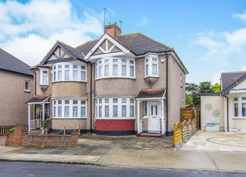 Thumbnail 3 bedroom semi-detached house for sale in Cambridge Avenue, Gidea Park, Romford