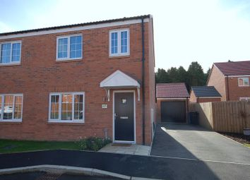 Thumbnail 3 bed semi-detached house for sale in Elden Grove, Morpeth