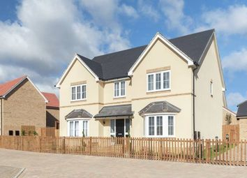 "Thumbnail 5 bed detached house for sale in ""The Solville"" at Bury Water Lane, Newport, Saffron Walden"