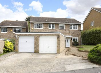 Thumbnail 3 bed semi-detached house for sale in Darley Close, Croydon