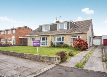 Thumbnail 3 bed semi-detached bungalow for sale in Fulmar Road, Porthcawl