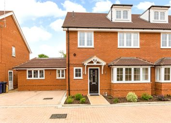Thumbnail 5 bedroom semi-detached house for sale in Cressex Square, High Wycombe, Buckinghamshire