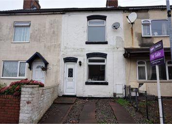 Thumbnail 2 bed terraced house for sale in Fairfield Road, Coalville