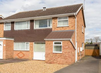 Thumbnail 3 bed semi-detached house for sale in Torrington Crescent, Wellingborough
