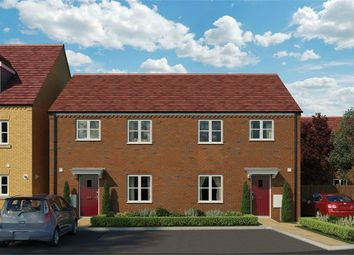 Thumbnail 3 bed semi-detached house for sale in Kier At Elsea Park Phase 5, Newton Abbot Way, Bourne