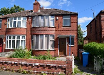 Thumbnail 4 bed property to rent in Alan Road, Withington, Manchester