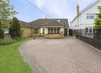Thumbnail 4 bed semi-detached bungalow for sale in Church Lane, Bulphan, Upminster, Essex