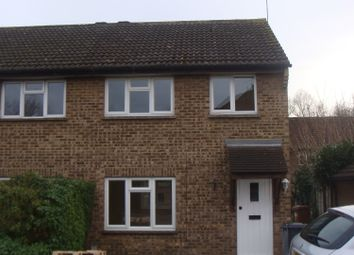 Thumbnail 3 bed semi-detached house to rent in Willowmead, Hertford