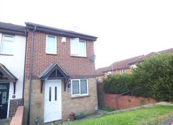 Thumbnail 2 bedroom end terrace house for sale in Coverdale, Luton