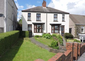 Thumbnail 2 bedroom semi-detached house for sale in Crown Street, Morriston, Swansea