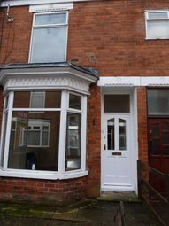 Thumbnail 2 bed terraced house to rent in Worthing Street, Hull
