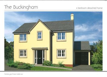 Thumbnail 4 bedroom detached house for sale in Ash Drive, South Molton