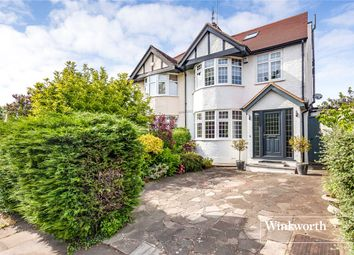 Thumbnail 4 bed semi-detached house for sale in Waverley Grove, Finchley, London