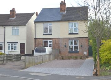 Thumbnail 2 bed semi-detached house for sale in Sullington Road, Shepshed, Leicestershire