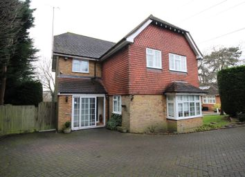 Thumbnail 4 bed detached house to rent in Larken Drive, Bushey