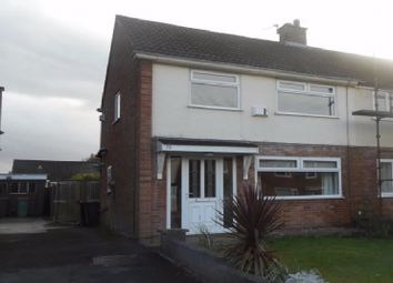 Thumbnail 2 bedroom semi-detached house to rent in Coniston Road, Fulwood, Preston