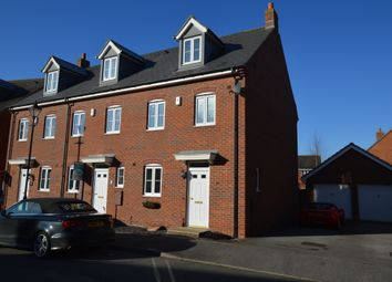 Thumbnail 3 bed end terrace house to rent in Whitebeam Drive, Witham St. Hughs, Lincoln