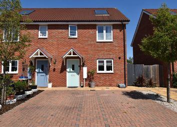 Thumbnail 2 bed semi-detached house for sale in Strachey Close, Saffron Walden