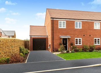 Thumbnail 3 bed semi-detached house for sale in Garners Field, Great Bourton, Banbury