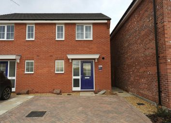 Thumbnail 3 bed semi-detached house to rent in Market Rasen Drive, Bourne, Lincolnshire