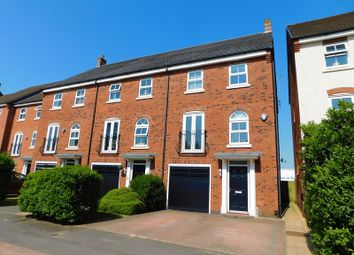 Thumbnail 3 bed town house for sale in Horton Drive, Stafford