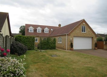 Thumbnail 3 bed detached house for sale in Feldale Lane, Coates, Peterborough