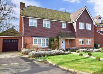 Thumbnail 5 bed detached house for sale in Bax Close, Storrington, West Sussex