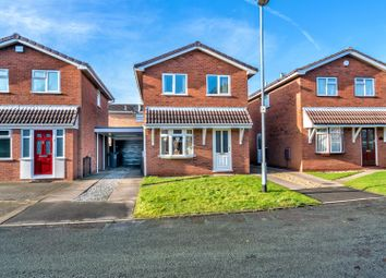 Thumbnail 3 bedroom detached house for sale in Coltsfoot View, Cheslyn Hay, Walsall