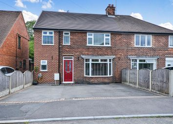 Thumbnail 4 bed semi-detached house for sale in Lake Avenue, Loscoe, Heanor