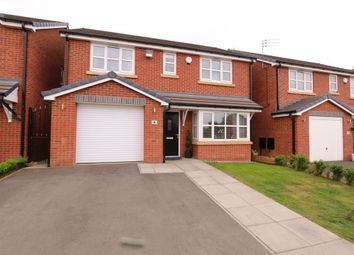 Thumbnail 4 bed detached house for sale in Brook Close, Hyde
