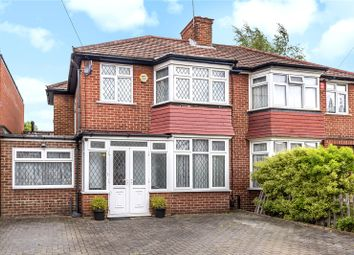 Thumbnail 4 bedroom semi-detached house for sale in Ladycroft Walk, Stanmore, Middlesex