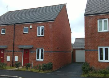Thumbnail 3 bed semi-detached house to rent in Rosefinch Road, West Timperley, Altrincham
